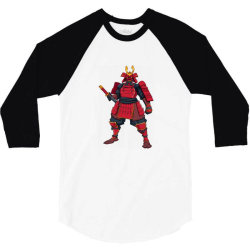 Samurai, ninja, skull 3/4 Sleeve Shirt | Artistshot