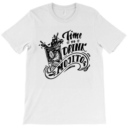 Time Drink T-shirt Designed By Komodo Dragon