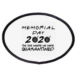 Memorial Day 2020 Oval Patch Designed By Kakashop