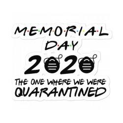 Memorial Day 2020 Sticker Designed By Kakashop
