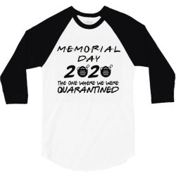 memorial day 2020 3/4 Sleeve Shirt | Artistshot