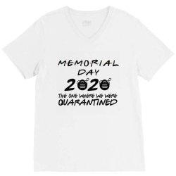 memorial day 2020 V-Neck Tee | Artistshot