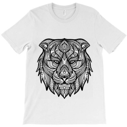 Lion Jaguar Leopard Feline T-shirt Designed By Designisfun