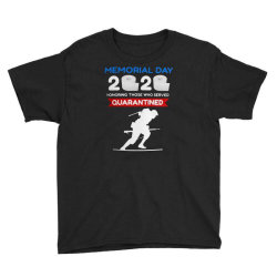 Memorial Day 2020 Quarantined Youth Tee Designed By Kakashop