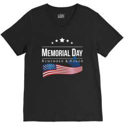 memorial day 2020 V-Neck Tee | Artistshot