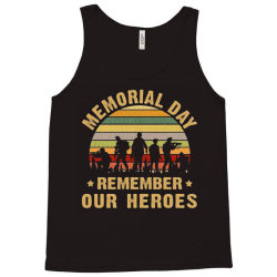 memorial day remember our heroes Tank Top | Artistshot