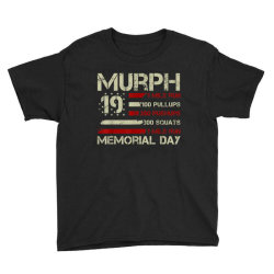 Murph 19 Memorial Day Youth Tee Designed By Kakashop