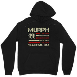 Murph 19 Memorial Day Unisex Hoodie Designed By Kakashop
