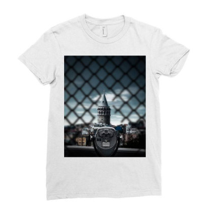 Istanbul Ladies Fitted T-shirt Designed By Omerpsd