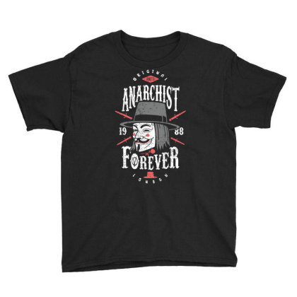 Anarchist Forever Youth Tee Designed By Olipop