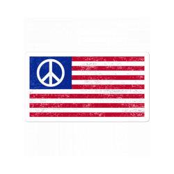 Grunge Usa Peace Sign Flag Sticker Designed By Alamy