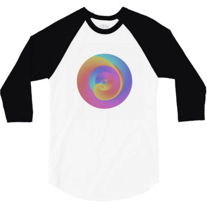Harmony 3/4 Sleeve Shirt Designed By Brucedesigns