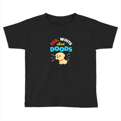 Doodle Dog Gifts For 4th July Independence Day Pet Premium T Shirt Toddler T-shirt Designed By Blackstone