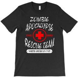zombie apocalypse rescue team T-Shirt   Artistshot