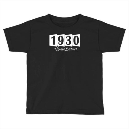 1930 Limited Edition Toddler T-shirt Designed By Vanotees