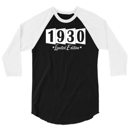 1930 Limited Edition 3/4 Sleeve Shirt Designed By Vanotees