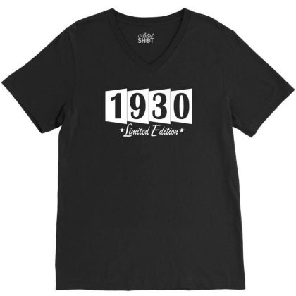 1930 Limited Edition V-neck Tee Designed By Vanotees