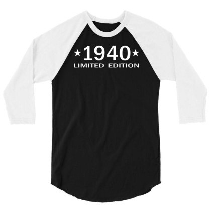 1940 Limited Edition 3/4 Sleeve Shirt Designed By Vanotees