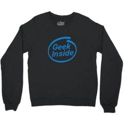 geek inside Crewneck Sweatshirt | Artistshot