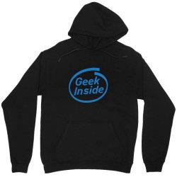 geek inside Unisex Hoodie | Artistshot