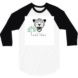 wild and free T-shirt 3/4 Sleeve Shirt | Artistshot