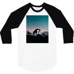 Animals 3/4 Sleeve Shirt | Artistshot