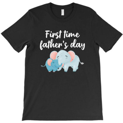 First Time Father's Day For Dark T-shirt Designed By Sengul