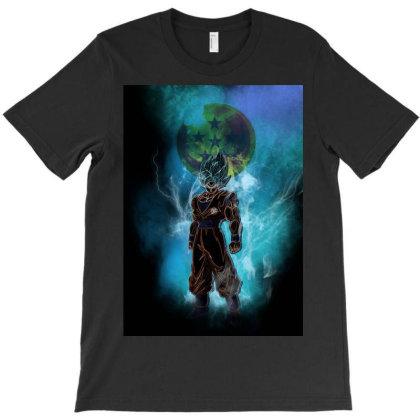 Sayan Awakening T-shirt Designed By Ryukrabit