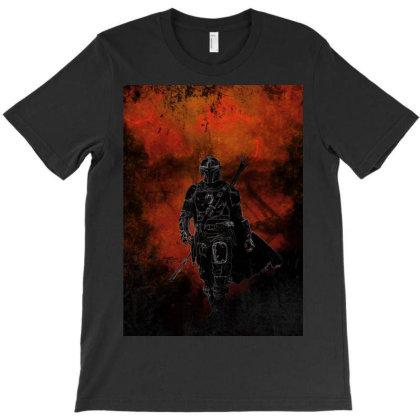 Mandalorian Awakening T-shirt Designed By Ryukrabit