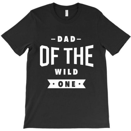 Mens Dad Of The Wild One Shirt Plaid Lumberjack 1st Birthday T-shirt Designed By Diogo Calheiros