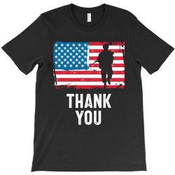 Thank You - Veteran Hero Gift T-shirt Designed By Cidolopez