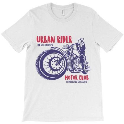 Urban Rider Motorcycle Biker T-shirt Designed By Designisfun