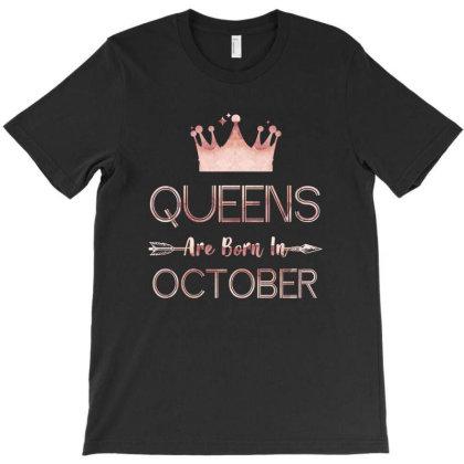 Birthday Born In October T-shirt Designed By Sengul