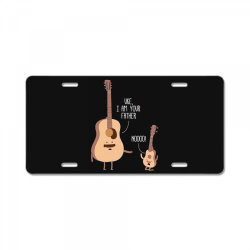 i am your father ukulele lovers father's day gift License Plate | Artistshot