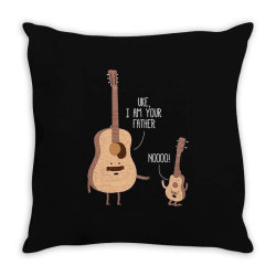 i am your father ukulele lovers father's day gift Throw Pillow | Artistshot