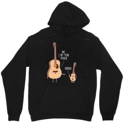 i am your father ukulele lovers father's day gift Unisex Hoodie   Artistshot