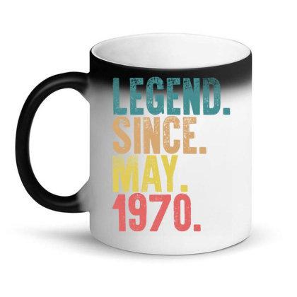 Legend Since May 1970 Magic Mug Designed By Badaudesign
