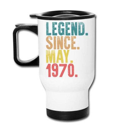 Legend Since May 1970 Travel Mug Designed By Badaudesign