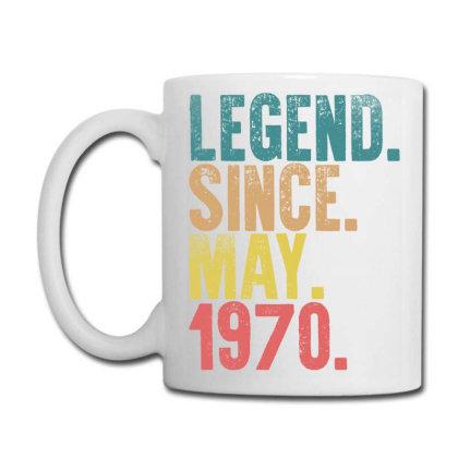 Legend Since May 1970 Coffee Mug Designed By Badaudesign