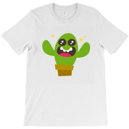 Cactus Love T-shirt Designed By Designsbymallika