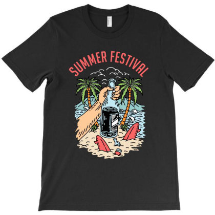 Summer Fest T-shirt Designed By Sober Artwerk