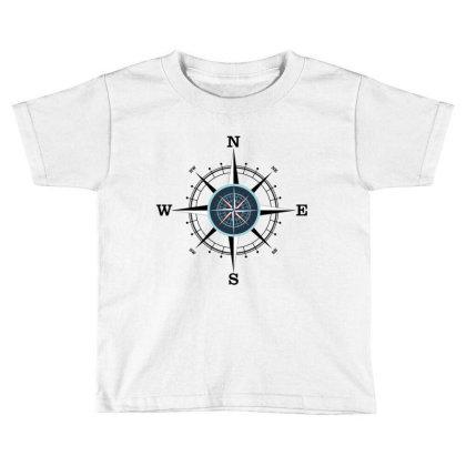 Compass Toddler T-shirt Designed By Evindart