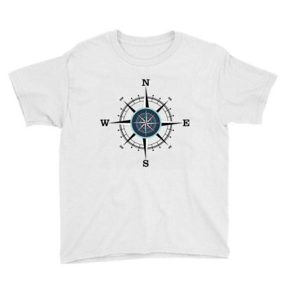Compass Youth Tee Designed By Evindart