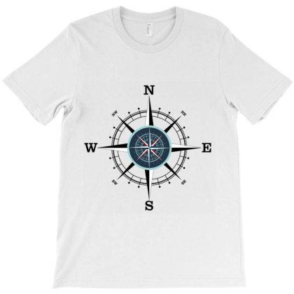 Compass T-shirt Designed By Evindart