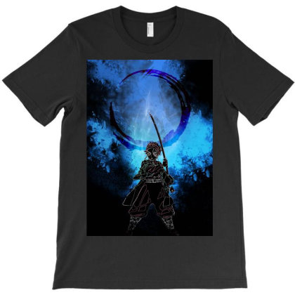 Water Spirit Awakening T-shirt Designed By Ryukrabit