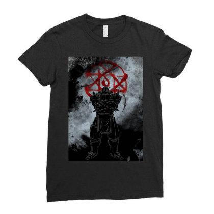 Armor Awakening Ladies Fitted T-shirt Designed By Ryukrabit