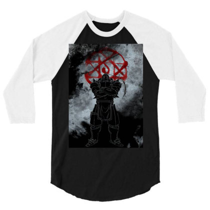 Armor Awakening 3/4 Sleeve Shirt Designed By Ryukrabit