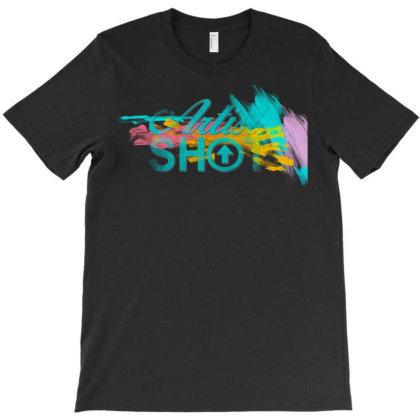 Artist Shot Logo Color T-shirt Designed By Killakam