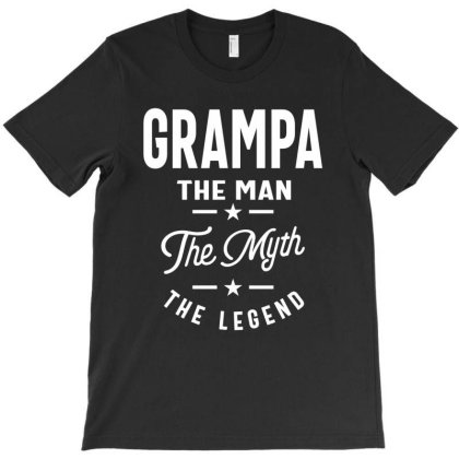 Grampa The Man The Myth The Legend T-shirt Designed By Cidolopez