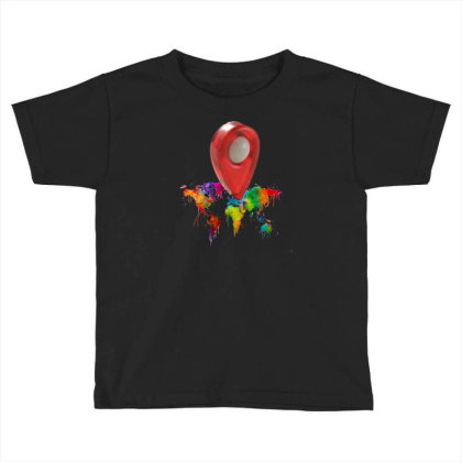 Location Toddler T-shirt Designed By Pskarts